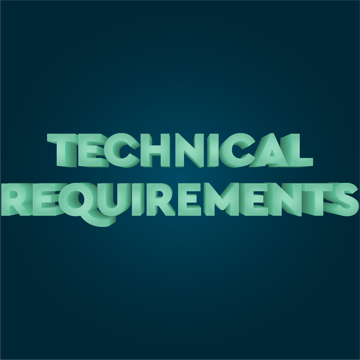 Step 4: Technical Requirements image
